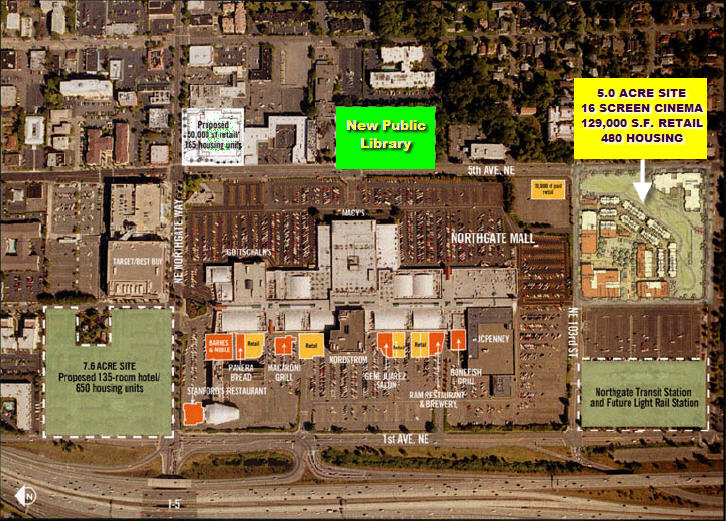 Northgate Mall Shopping Center Archives - The Seattle Specialist